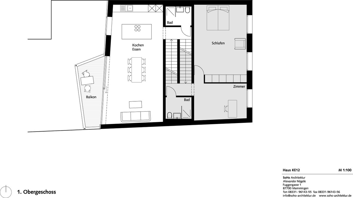 Second floor plan (Image: SoHo Architektur)