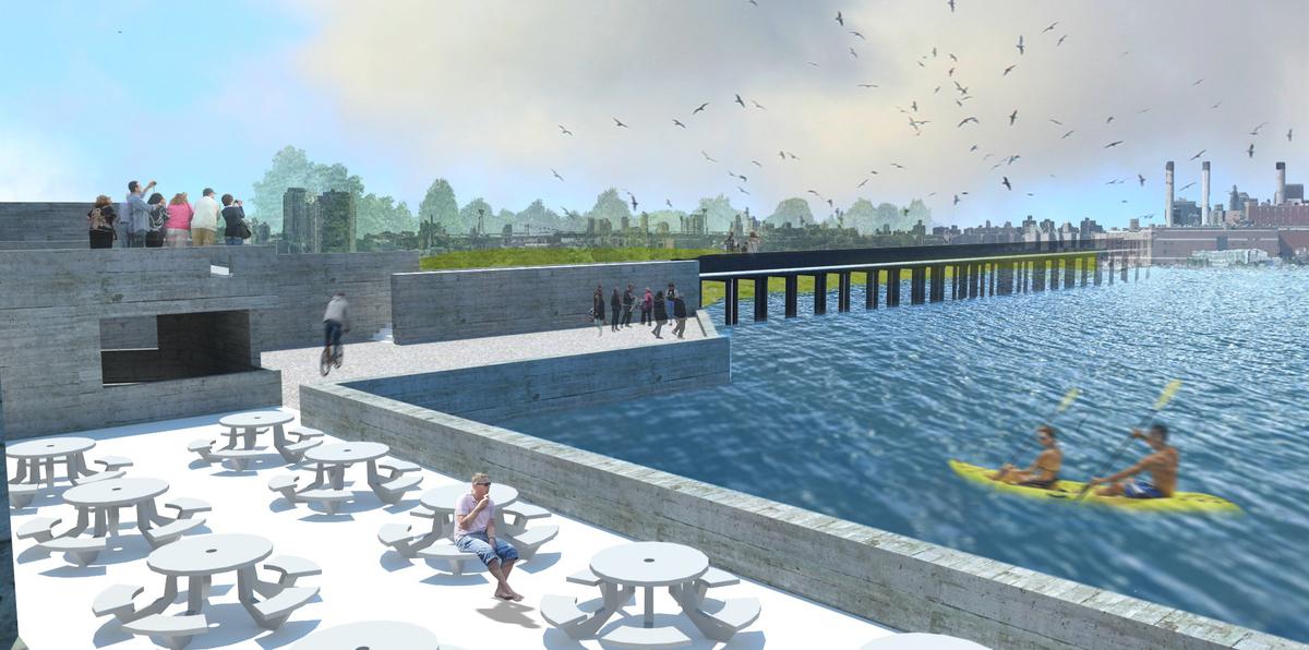 Outdoor Cafe + Wetlands Preserve