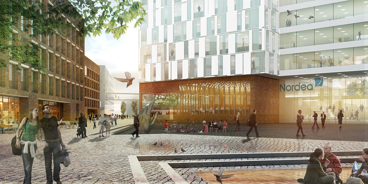 Plaza (Image: Henning Larsen Architects)