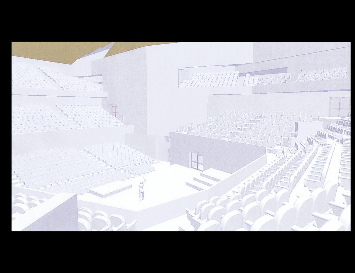 Computer generated View of the Interior