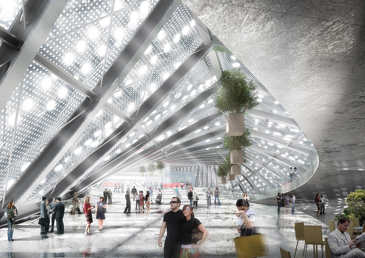 Interior view (Image: WAU Design)