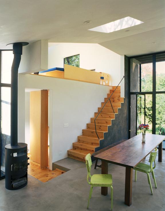 Little Tesseract House by Steven Holl Architects photo by Bilyana Dimitrova Photography