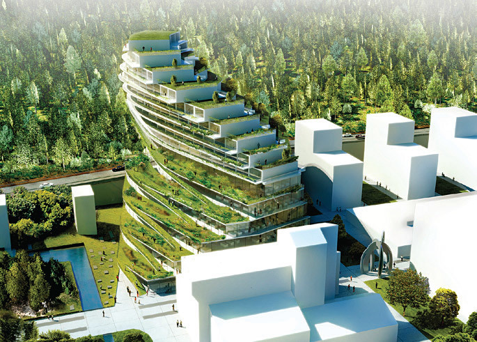 3XN Architects, with Green School Stockholm, Stockholm, Sweden