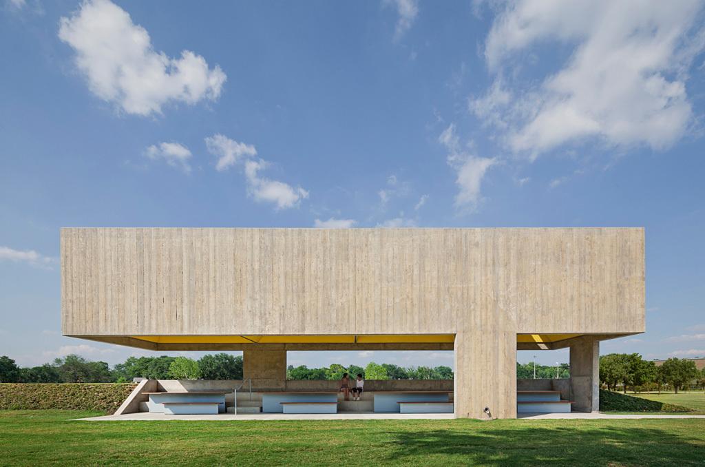 Projects Merit Award Winners: Webb Chapel Park Pavilion in Dallas, TX by Cooper Joseph Studio (Image Credit: © Eduard Hueber / archphoto)
