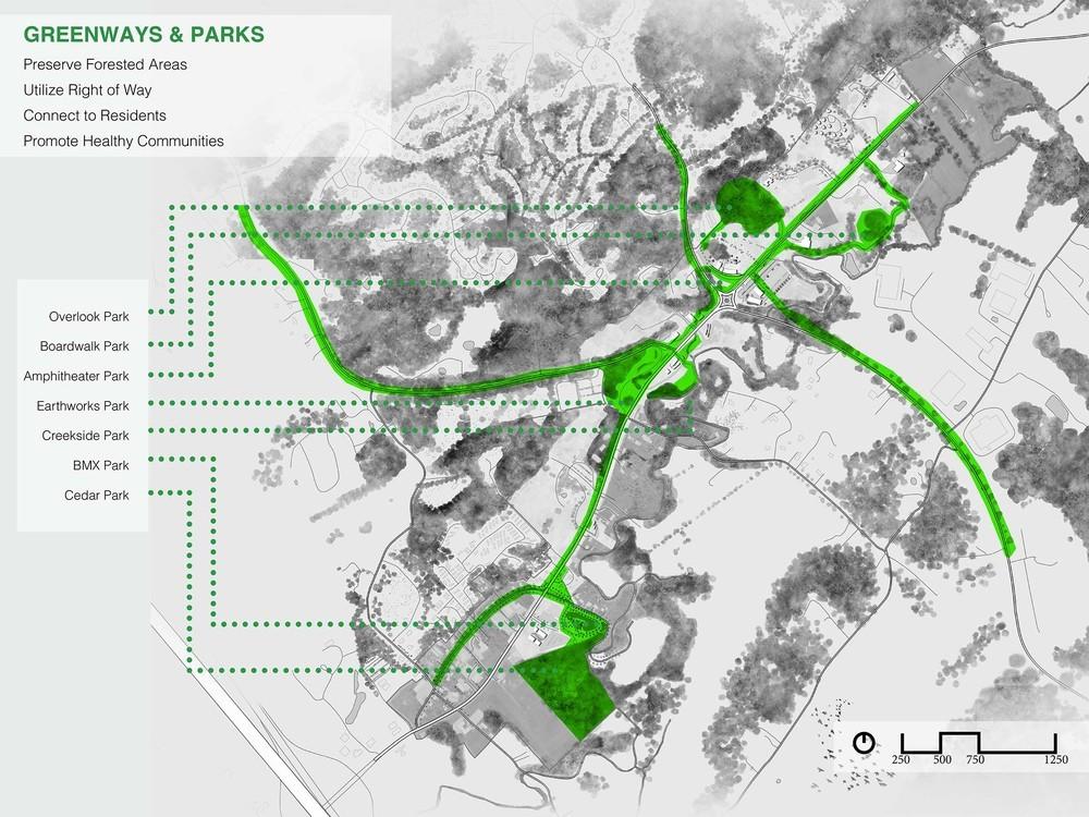 Master Plan Greenways and Parks (via Cameron Rodman)