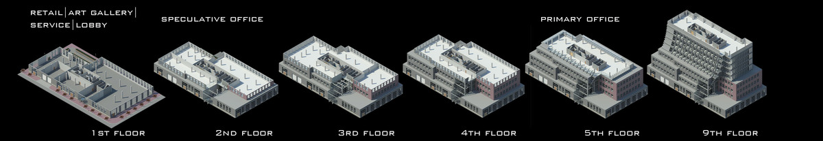 Floor Plan Axonometric