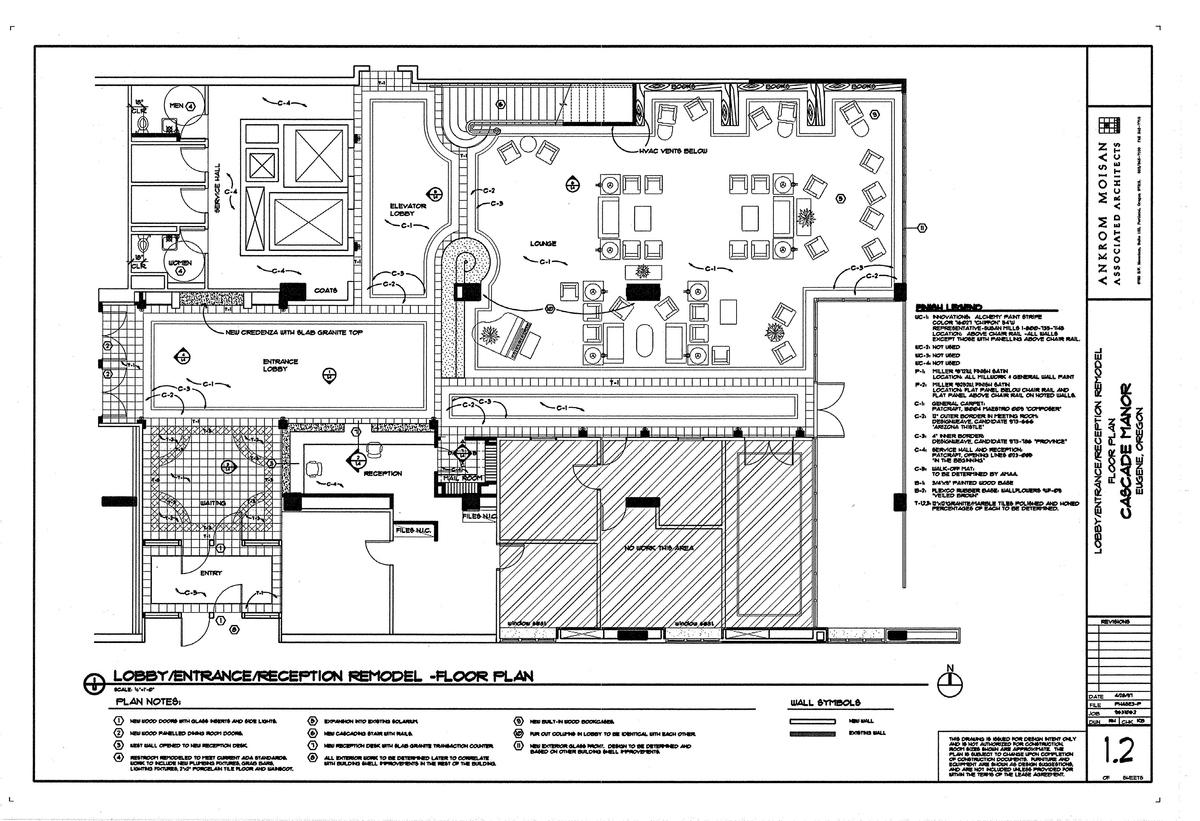 Flooring Plan and Furniture Layout