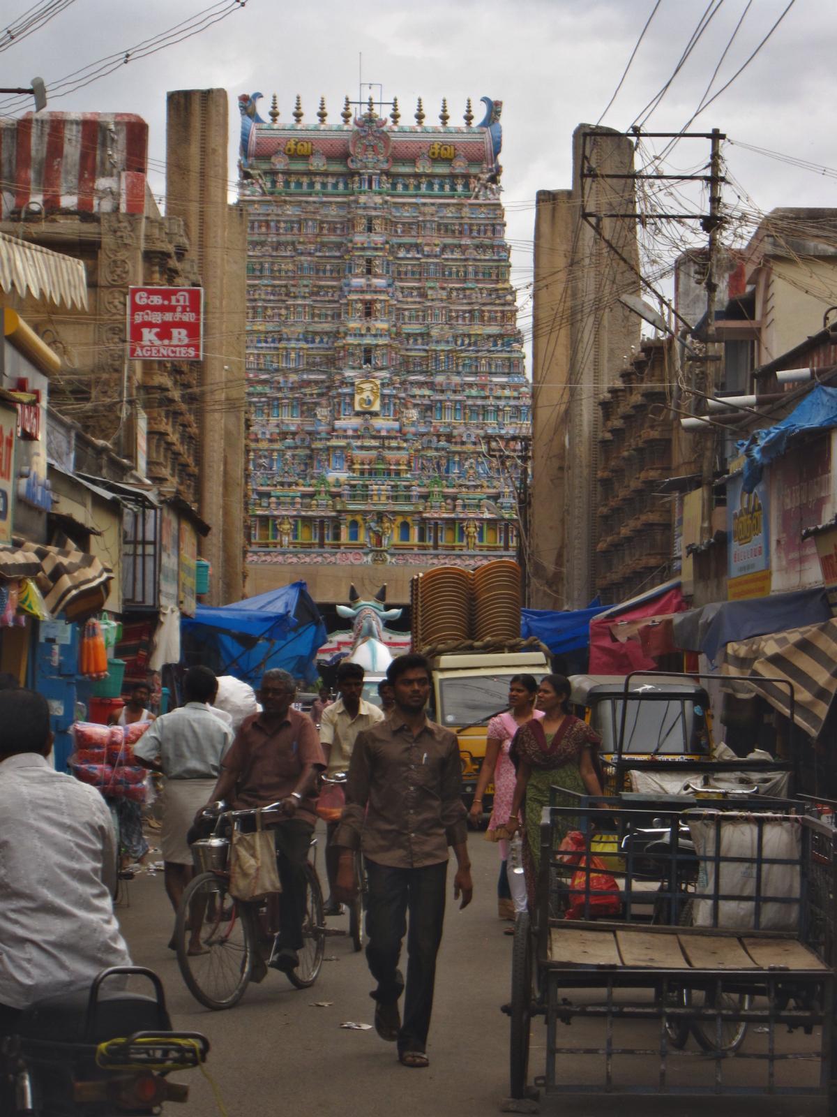 The southern gopura
