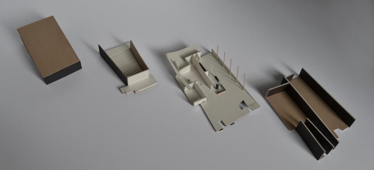 Maquette of the Auditorium (split in parts)