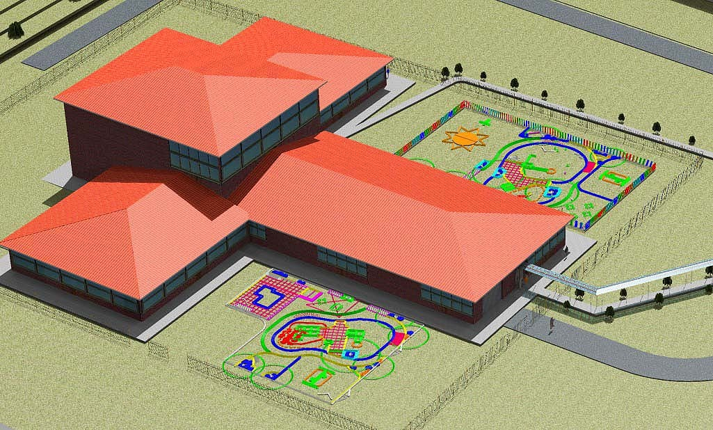 Architectural Design & BIM model by J. F. Bautista