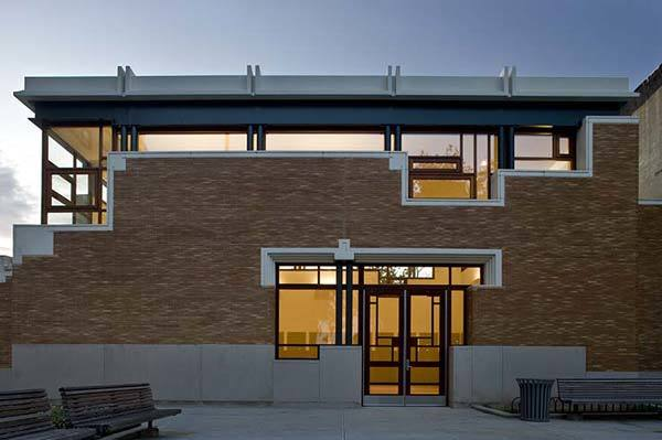 The Saratoga Avenue Community Center in Brooklyn photograph by Paul Warchol