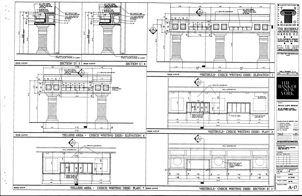 Furniture details.