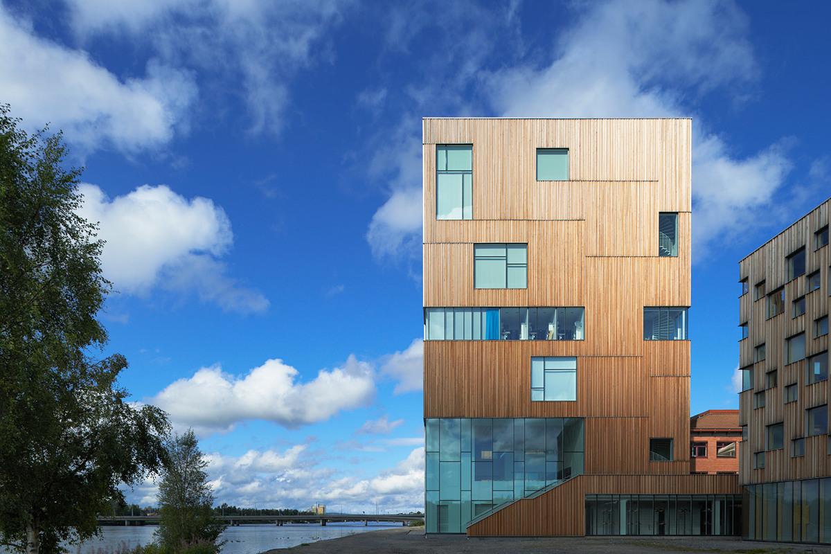 Exterior of the newly opened Umeå Art Museum designed by Henning Larsen Architects (Photo: Åke E:son Lindman)