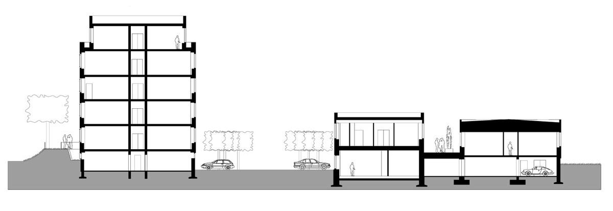 Section BB (Image: J. Mayer H. Architekten)