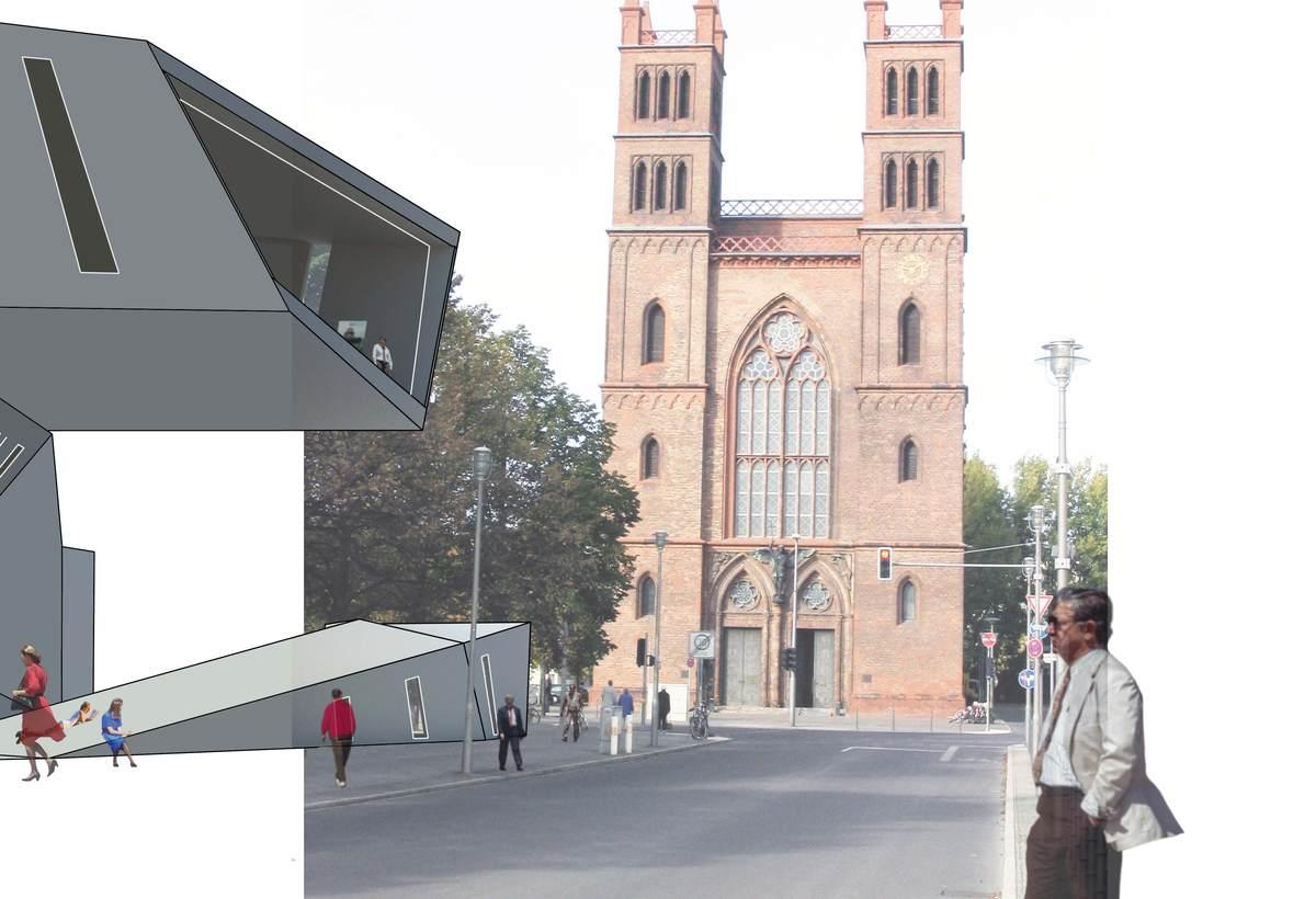 Streetside rendering
