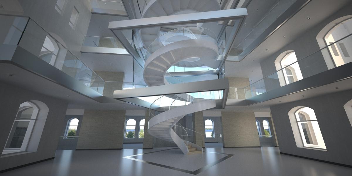 Autocad 3d with Felix render (Stack Studios)
