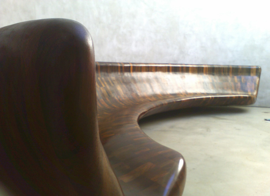 Sky Space Bench at the Price Residence