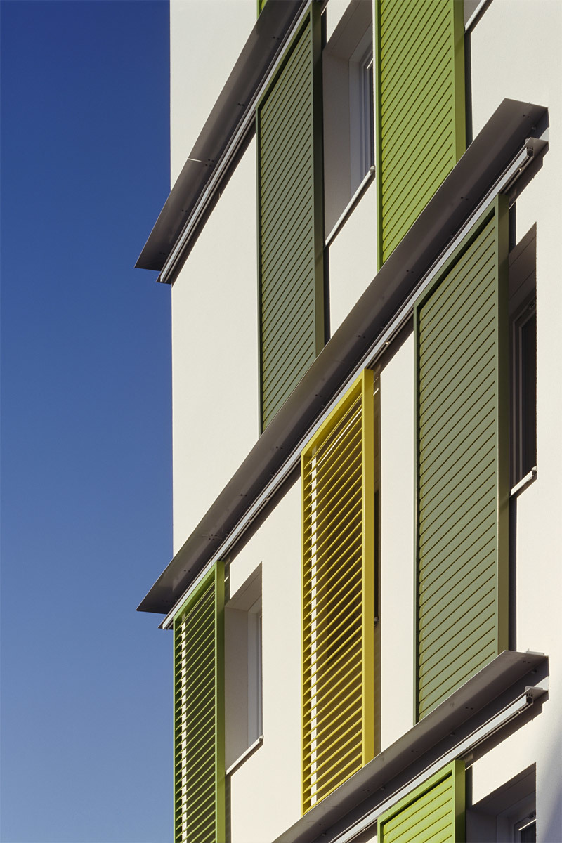 Three Sustainable Apartment Blocks in Clichy-sous-Bois, Paris, France by Atelier Tarabusi