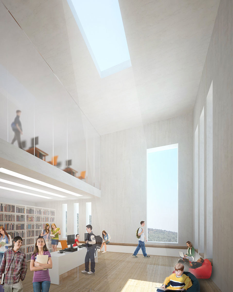 Library (Image: Atelier3AM)