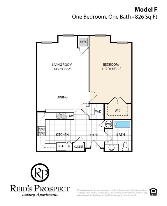Apartment Model F