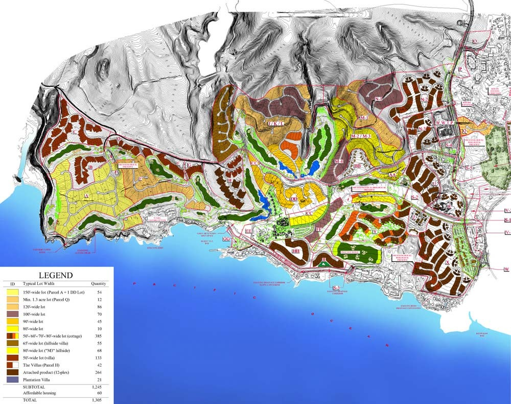 Kukui'Ula Site Plan