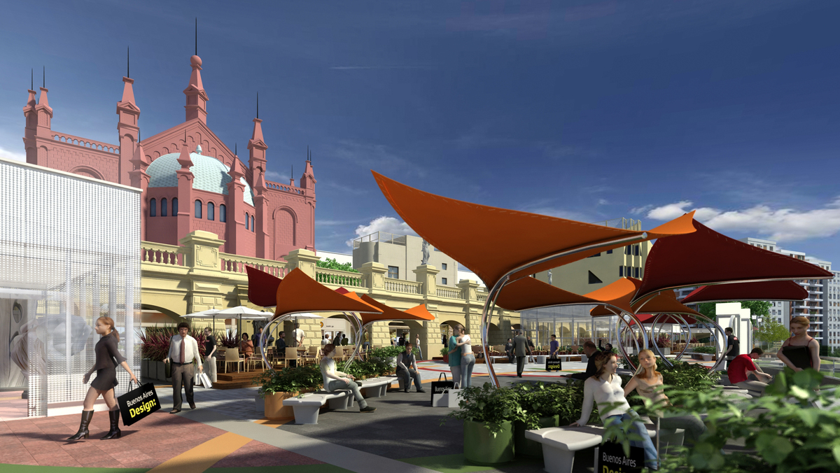 Enhancement new layout for Mall Terrace