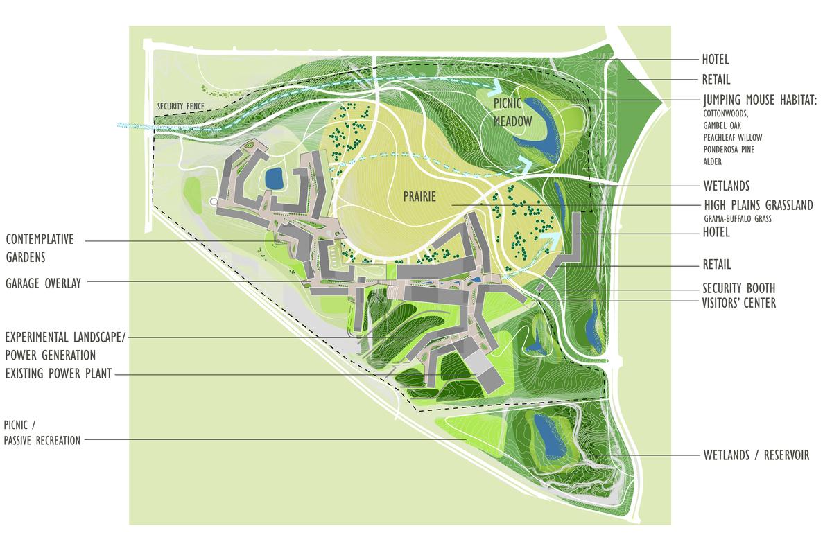 Full Phase Campus Masterplan