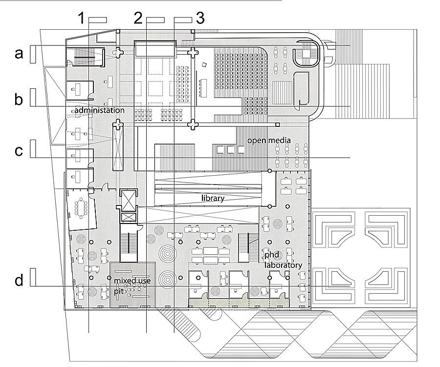 Studio/Admin. at Upper Level
