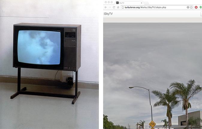 Installation shot of Yoko Ono's