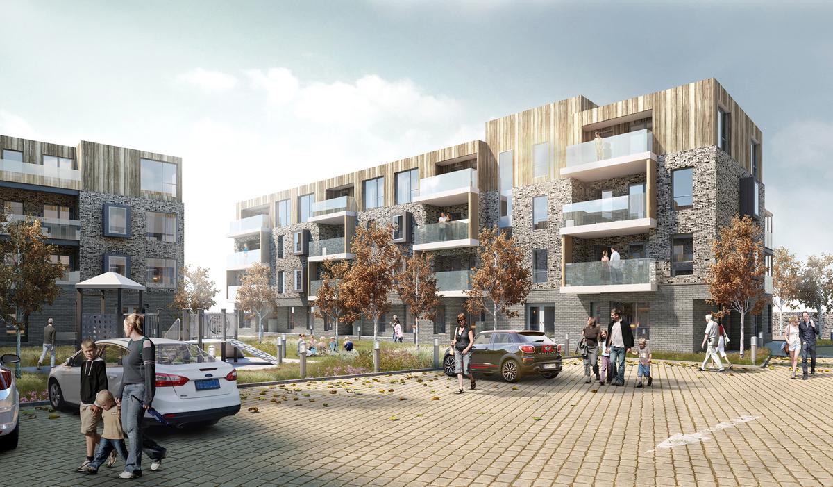 Eastbourne Housing Scheme. © Mohsin Cooper.