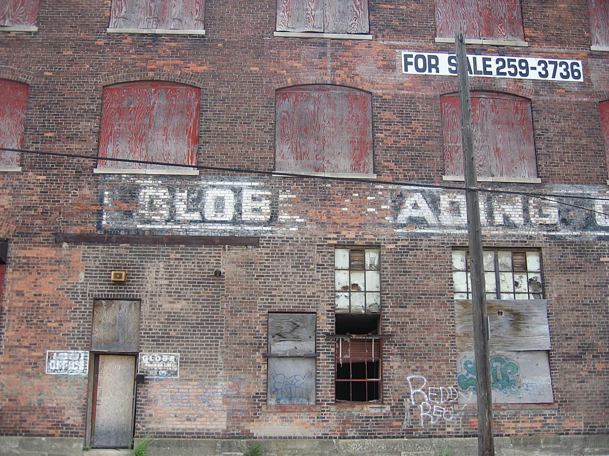East Detroit abandoned factory