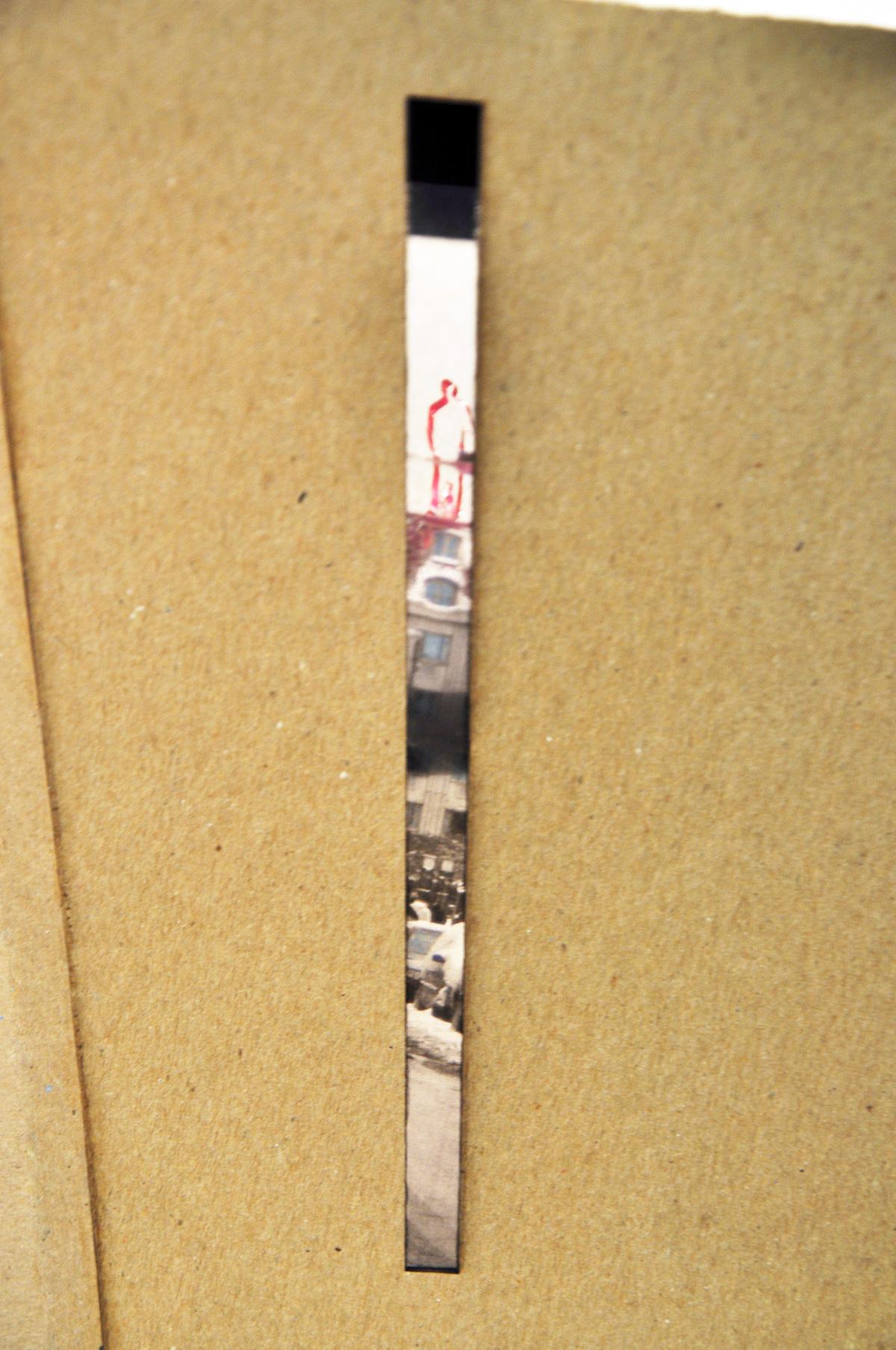 Model: view through vertical window