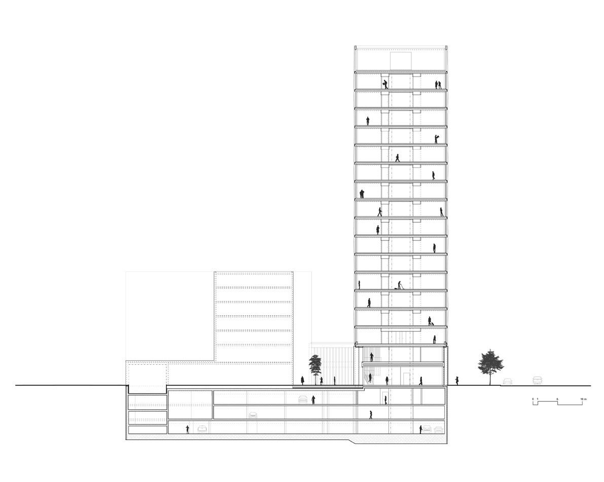 Section (Image: Barkow Leibinger)