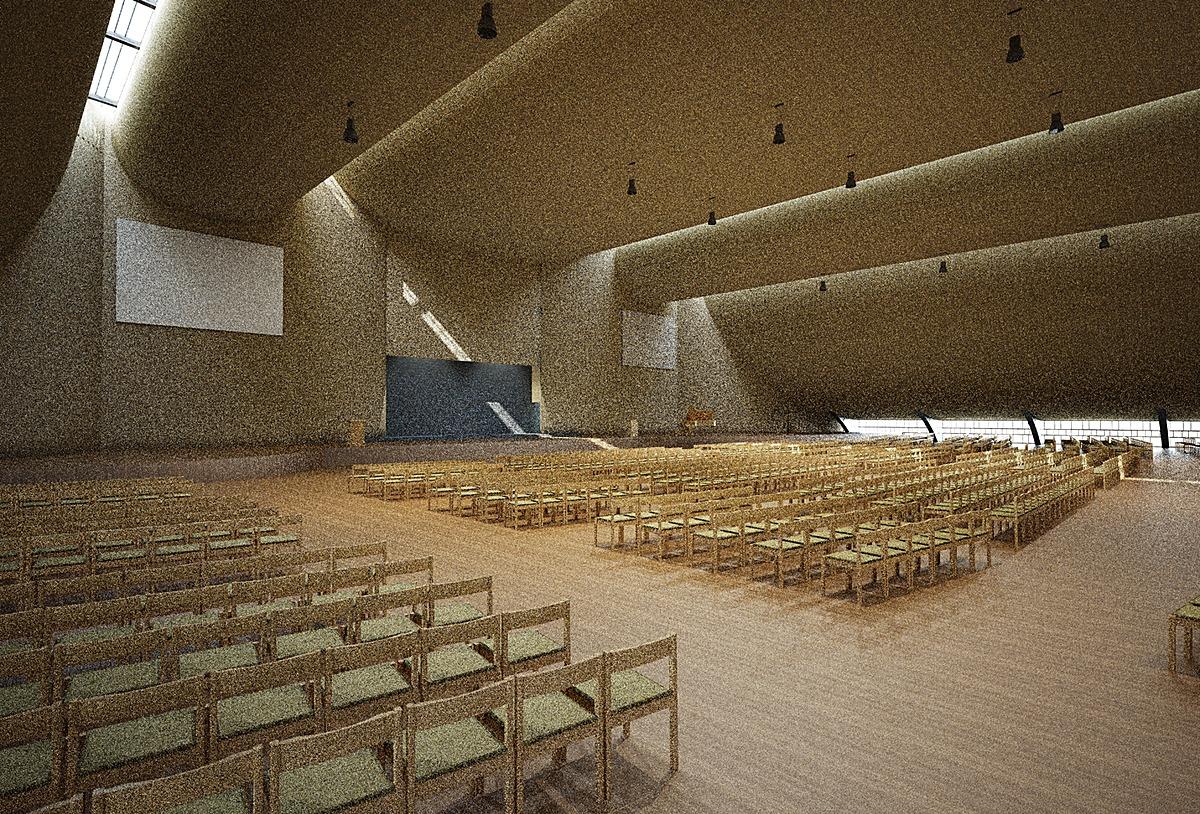 Interior Perspective (Maxwell Render)