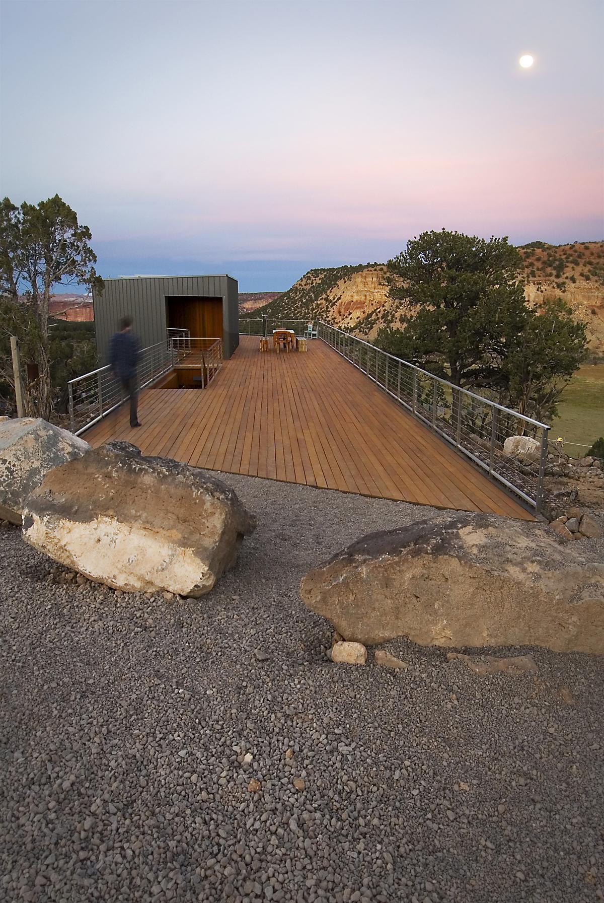 Ipe Deck Entry