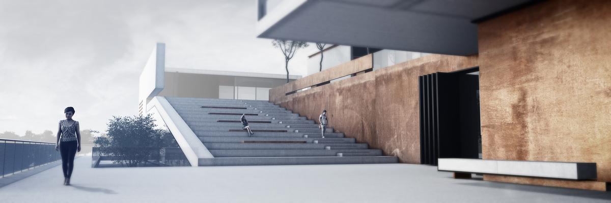 014 – PERSPECTIVE   URBAN PLATFORM - Image Courtesy of ONZ Architects