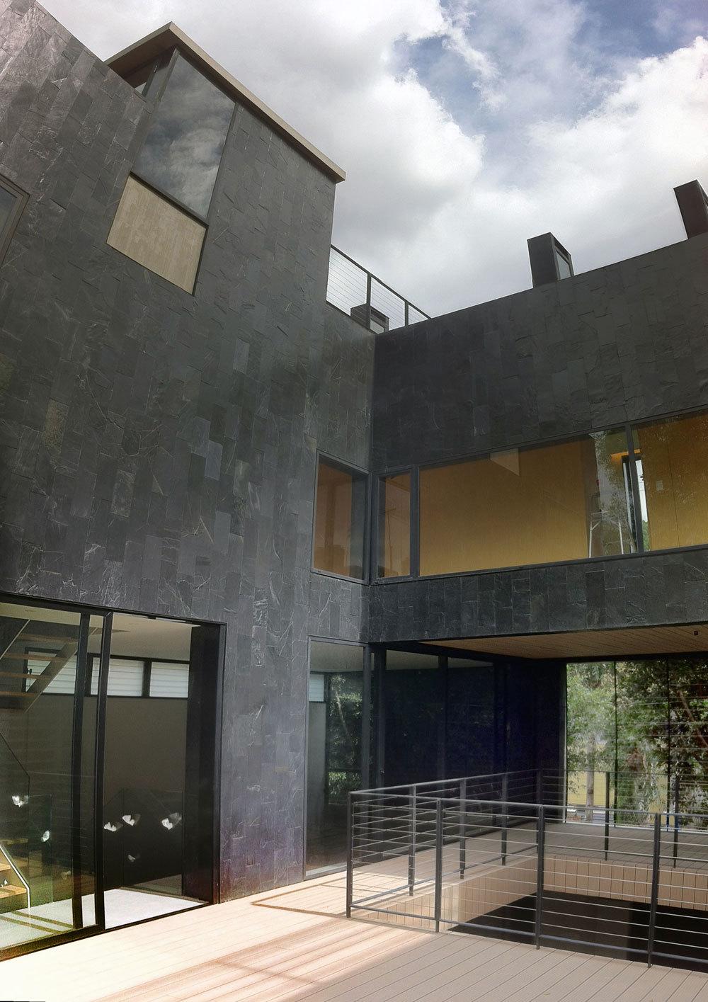 Patio 2 level view. Photo PCW