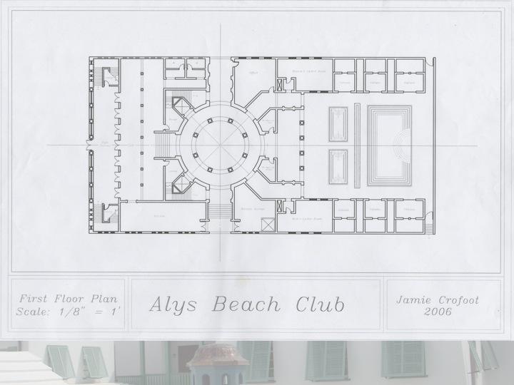 1st Floor of the Beach Club