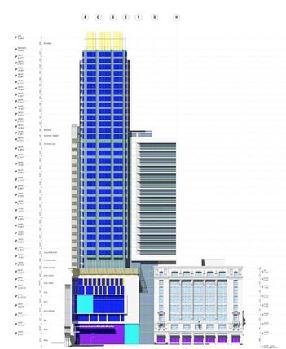 Proposed Glazing Diagram
