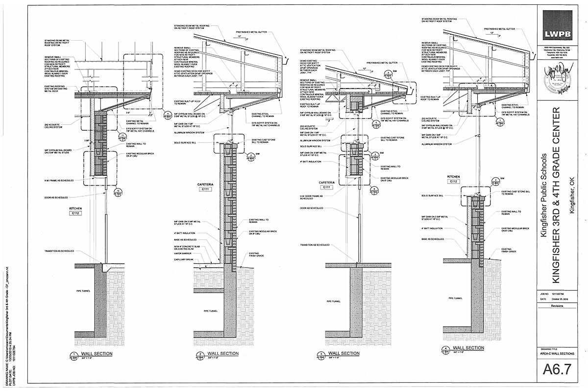Wall-Sections