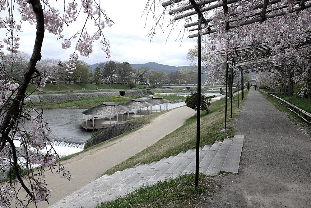 Kyoto, Japan River Café, 2009-2011 Project, Logan Amont