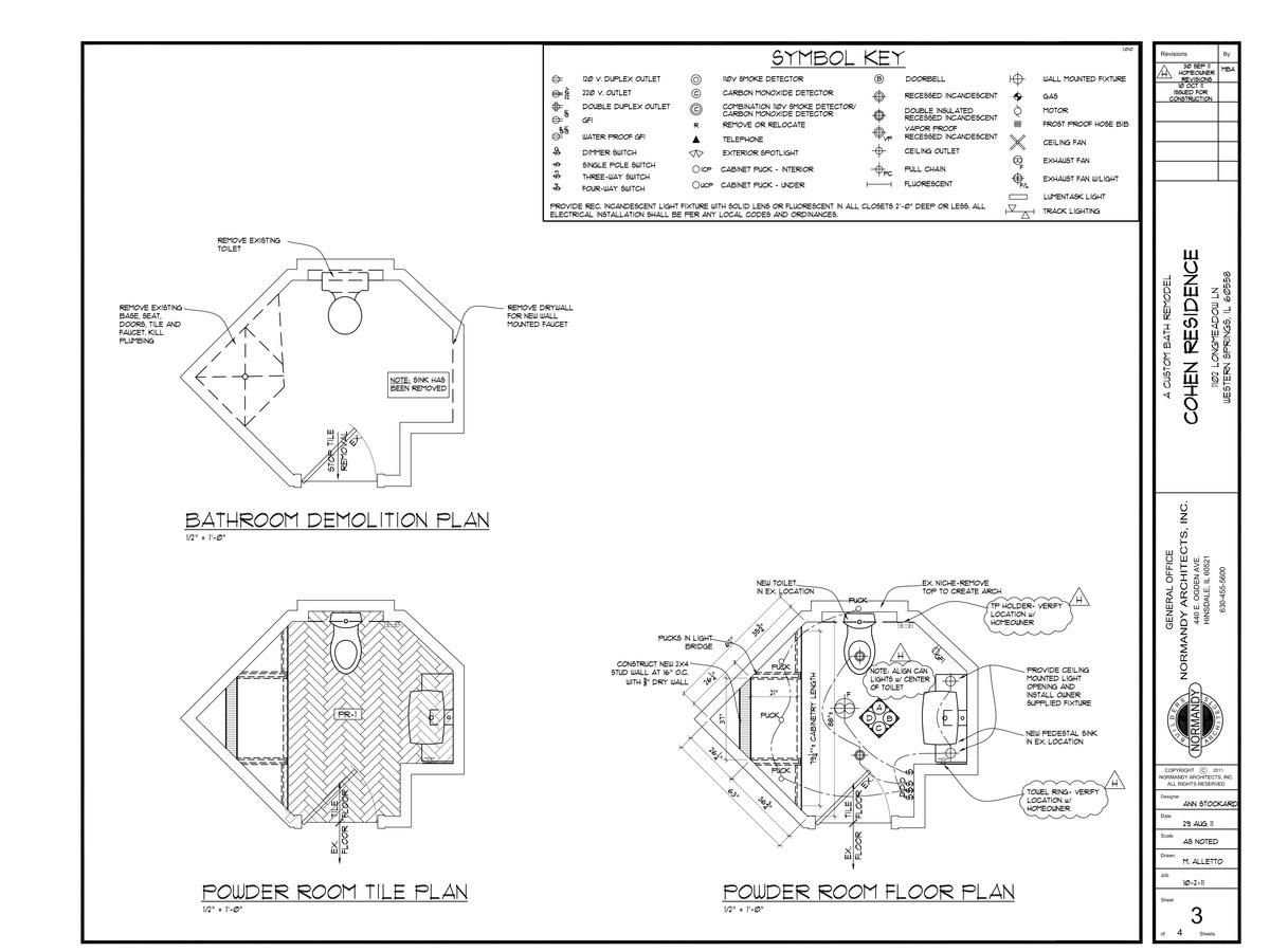 Floor plan/Tile layout