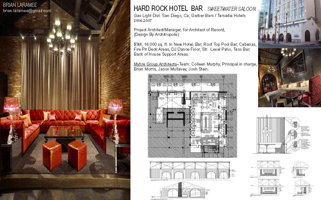 Hard Rock Hotel Lobby Bar
