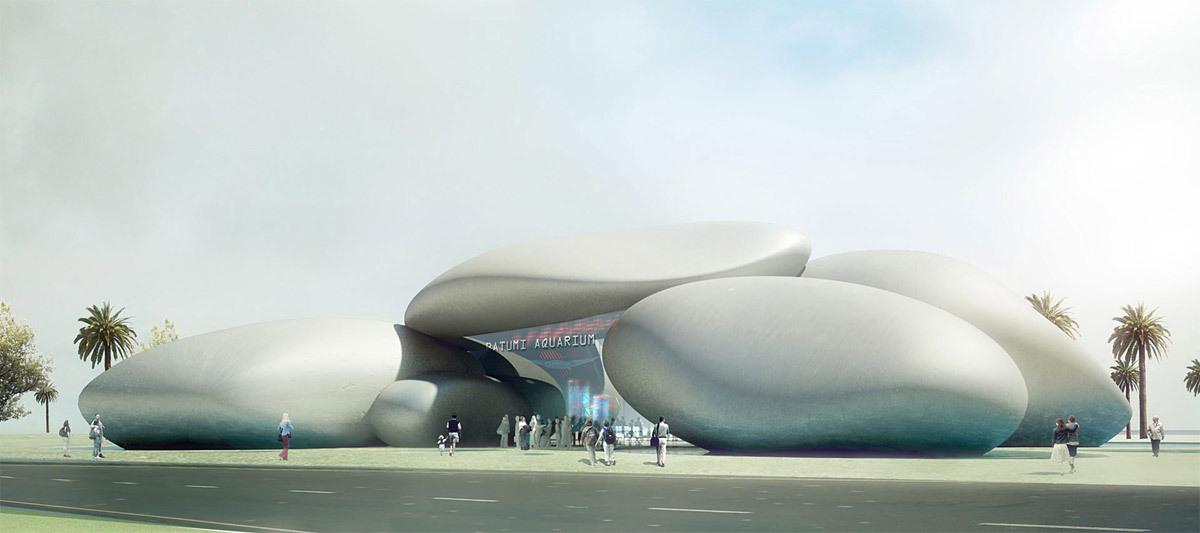 Batumi Aquarium, 2015 (Image: Henning Larsen Architects)