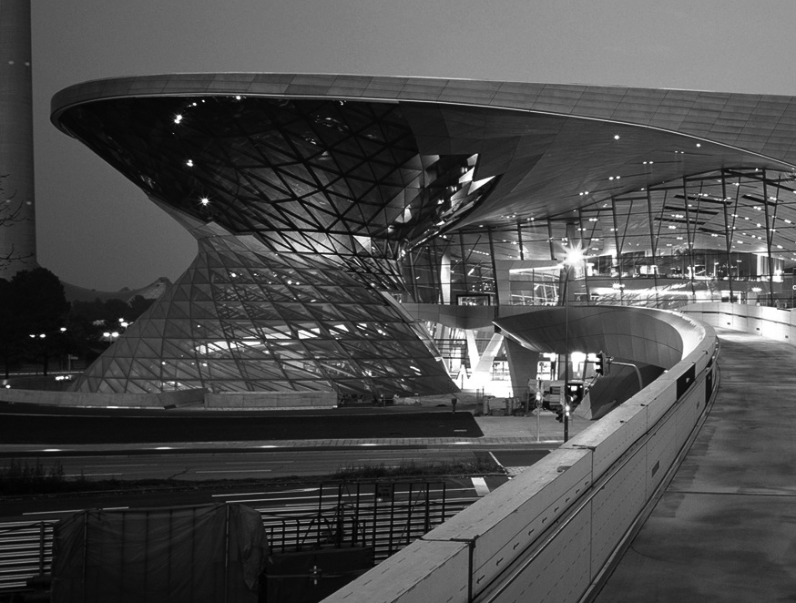 Coop Himmelb(l)au, BMW Welt, Munich, 2001–07. Photo © Marcus Buck.