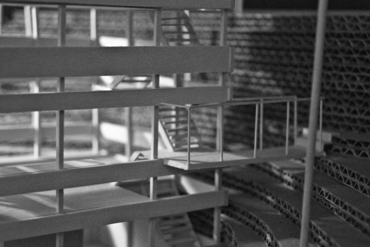 View from Hillside   Physical Model