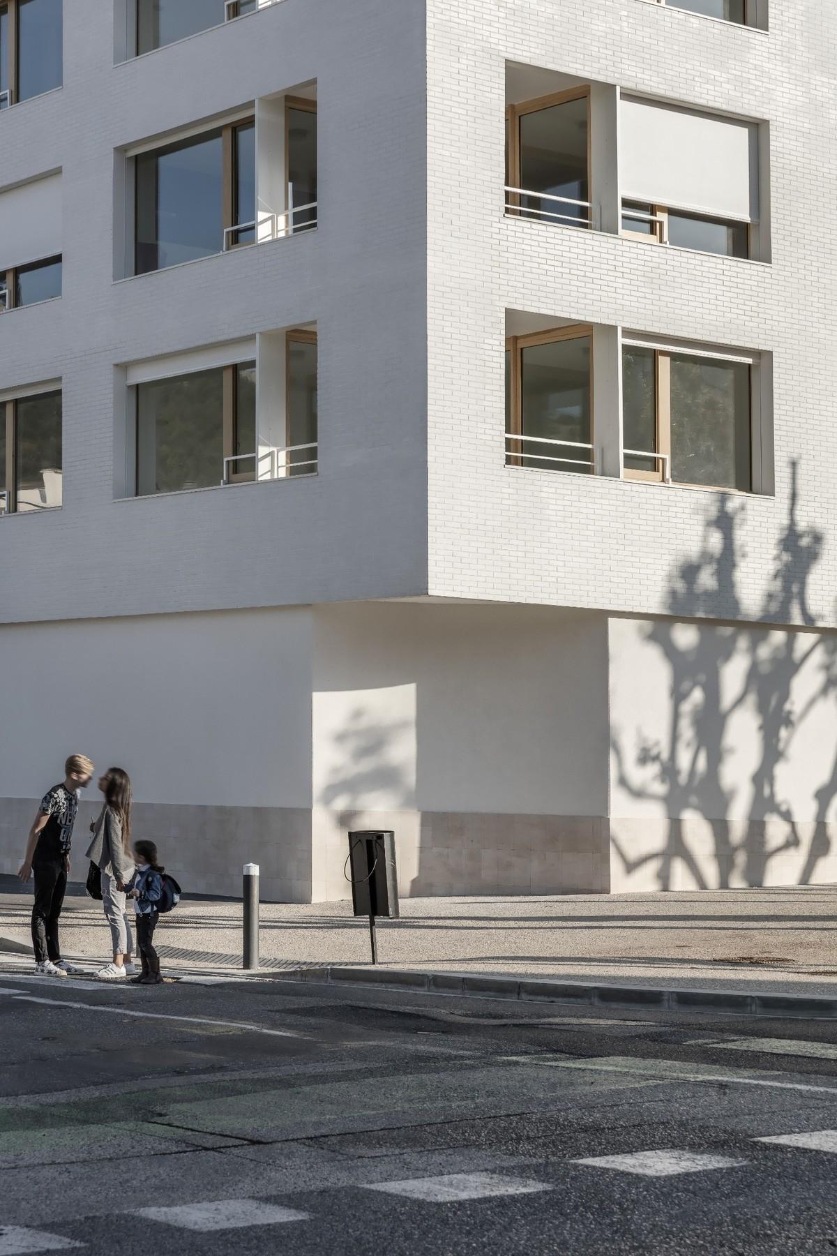 Housing Montfleuri. Design by Fernandez & Serres. PhPhoto courtesy of Aldo Amoretti.