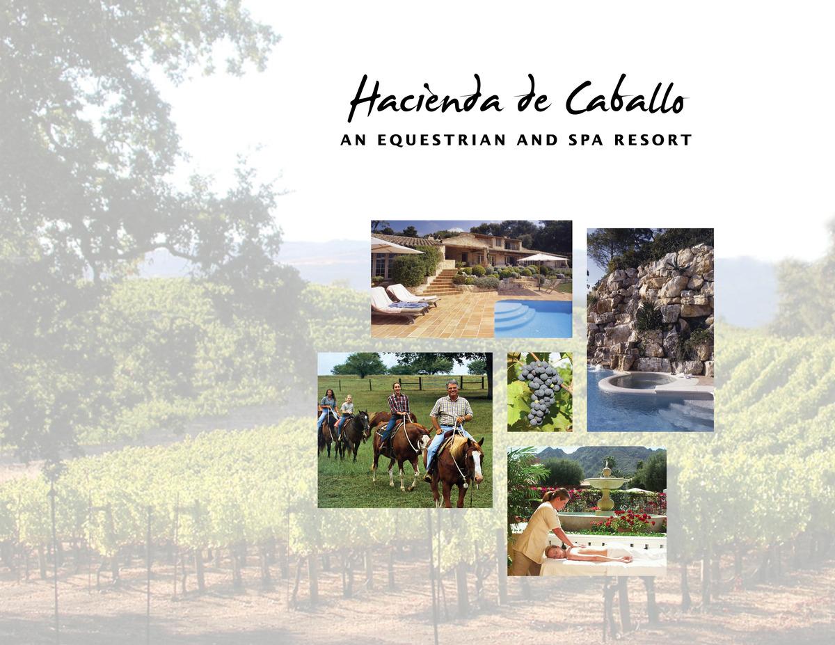 HDC - Equestrian & Spa Resort Marketing Booklet Cover