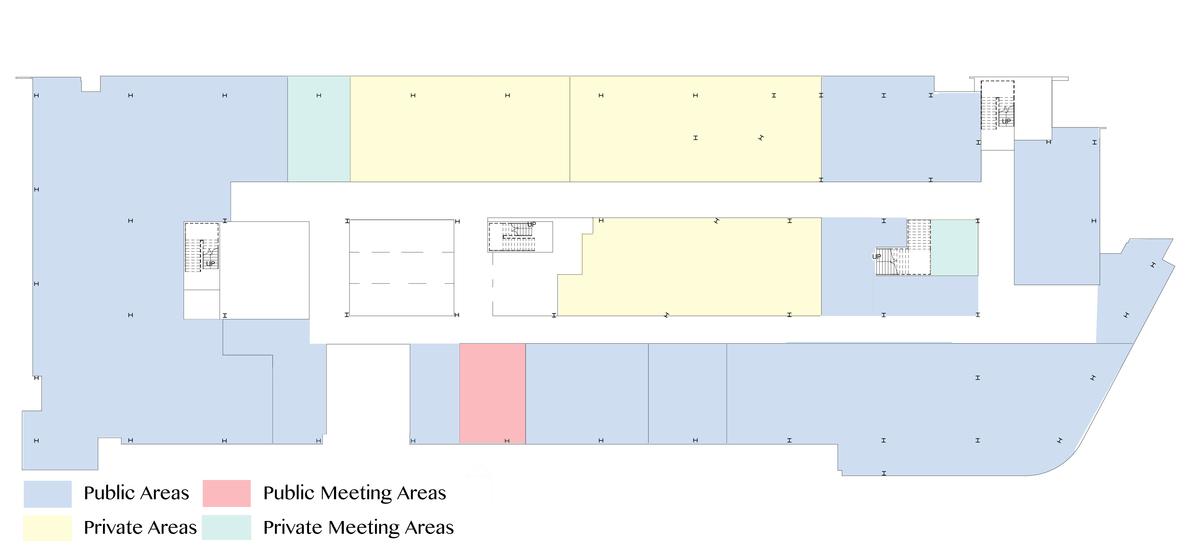 Second Floor Public Vs Private Diagram