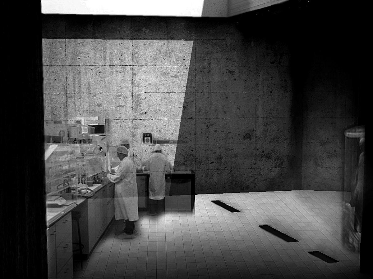 Underground lab space.
